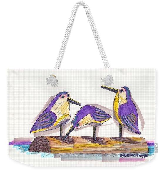 Water Fowl Motif #2 Weekender Tote Bag