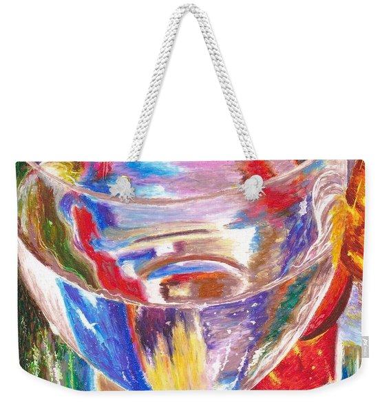 Water Glass Weekender Tote Bag