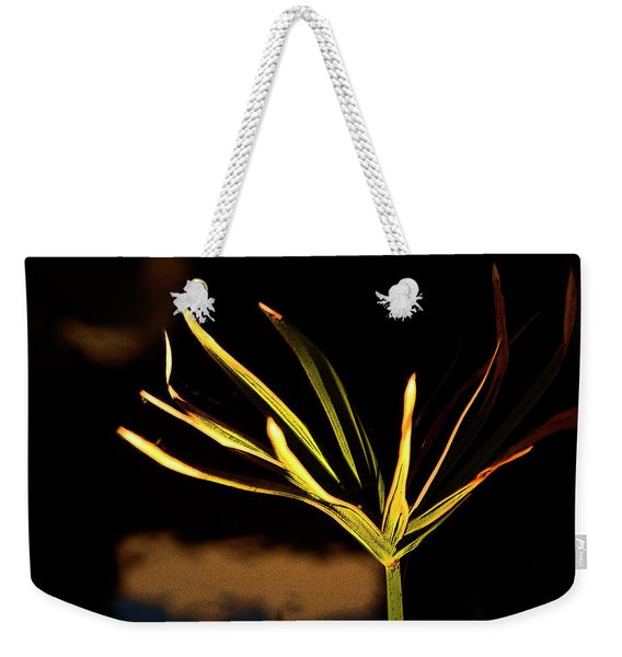 Water Grass Weekender Tote Bag