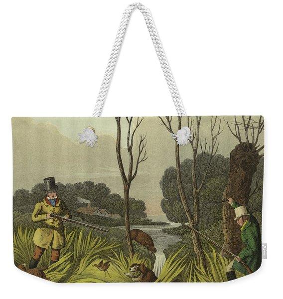 Water Hen Shooting Weekender Tote Bag
