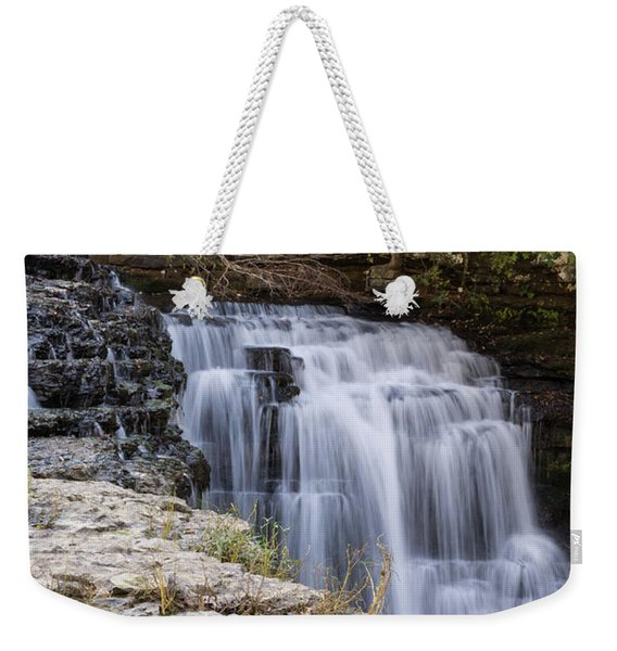 Water In Motion Weekender Tote Bag