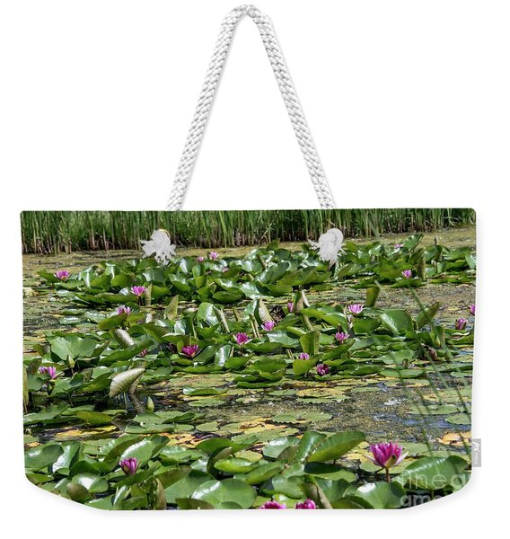 Water Lilies At Giverny - 2 Weekender Tote Bag