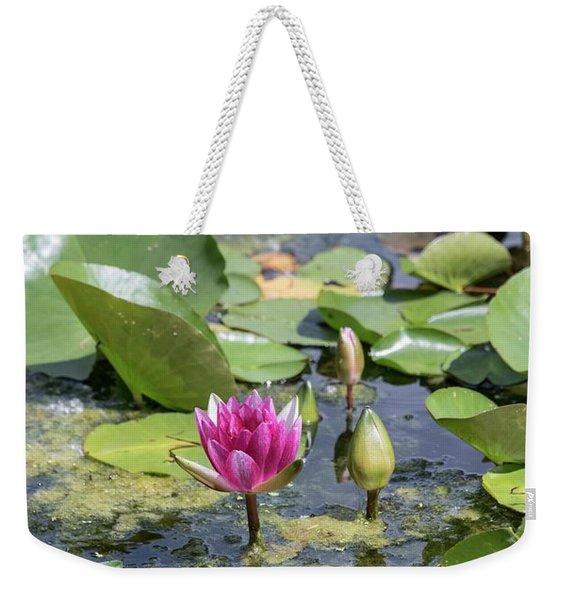 Water Lilies At Giverny - 3 Weekender Tote Bag