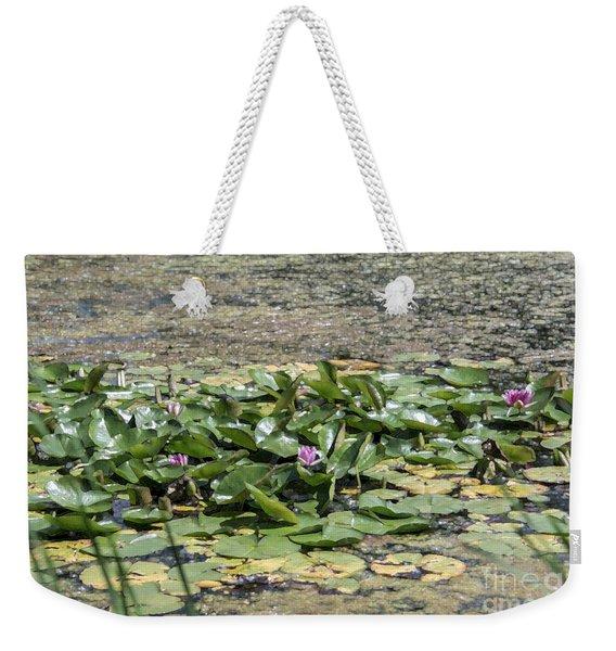 Water Lilies At Giverny - 5 Weekender Tote Bag