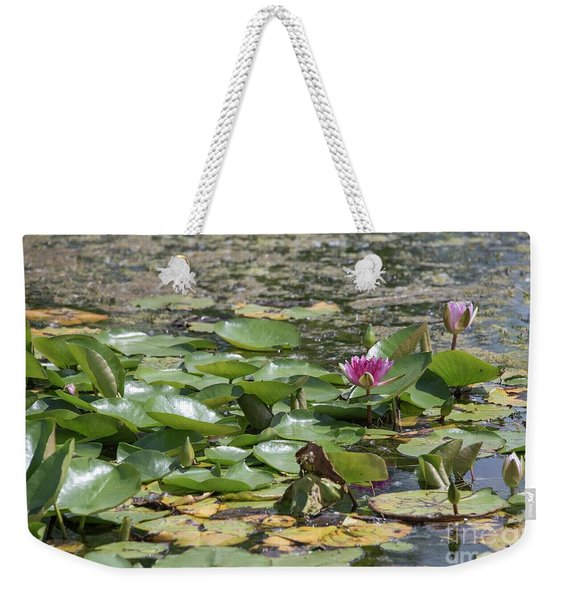 Water Lilies At Giverny Weekender Tote Bag