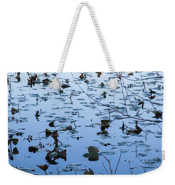 Water Lilies Autumn Song Weekender Tote Bag