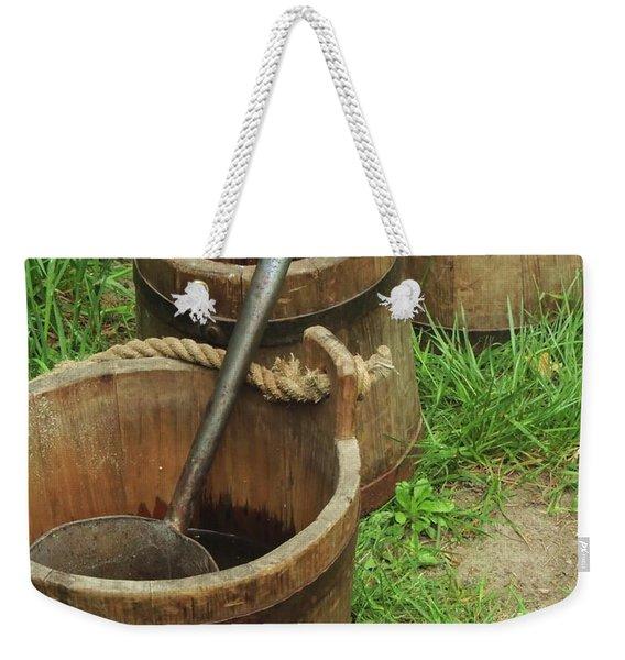 Water Pails Weekender Tote Bag