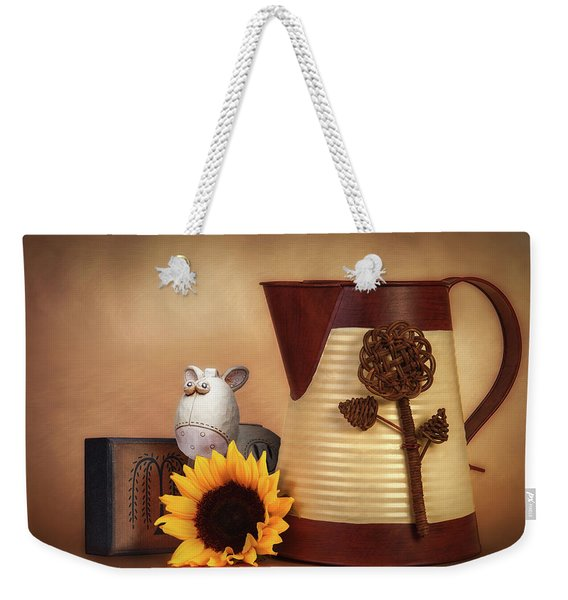 Water Pitcher Still Life Weekender Tote Bag