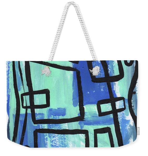 Water Pockets Weekender Tote Bag