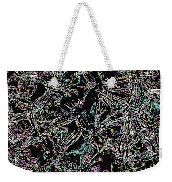 Water Reflection Abstract 4 Weekender Tote Bag