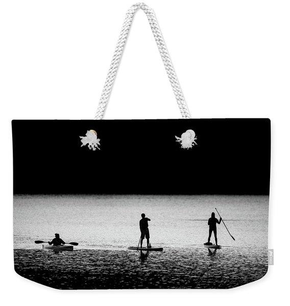 Water Sports Weekender Tote Bag