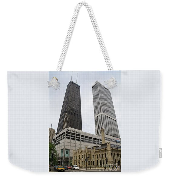 Water Tower Place And Company Weekender Tote Bag