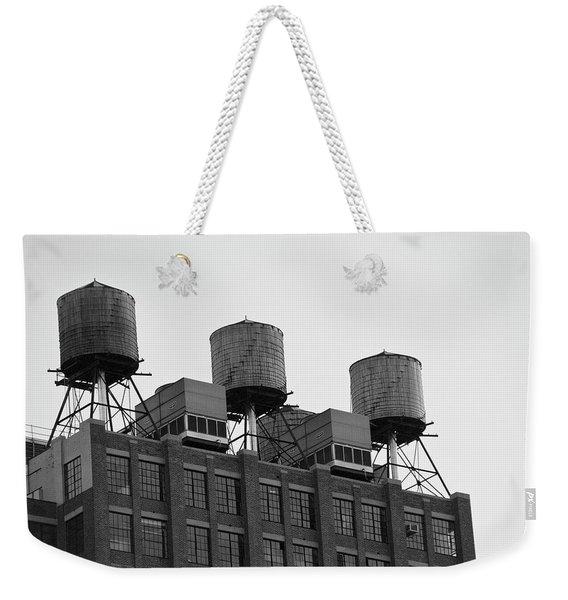 Water Towers Weekender Tote Bag