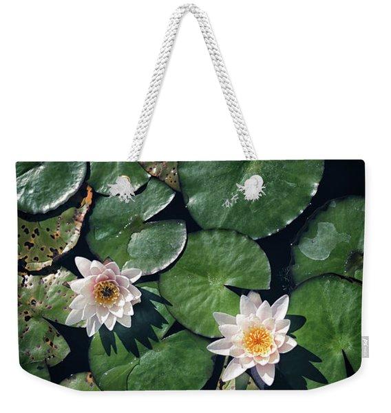 Water Triad Weekender Tote Bag