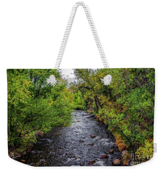 Water Under The Bridge Weekender Tote Bag