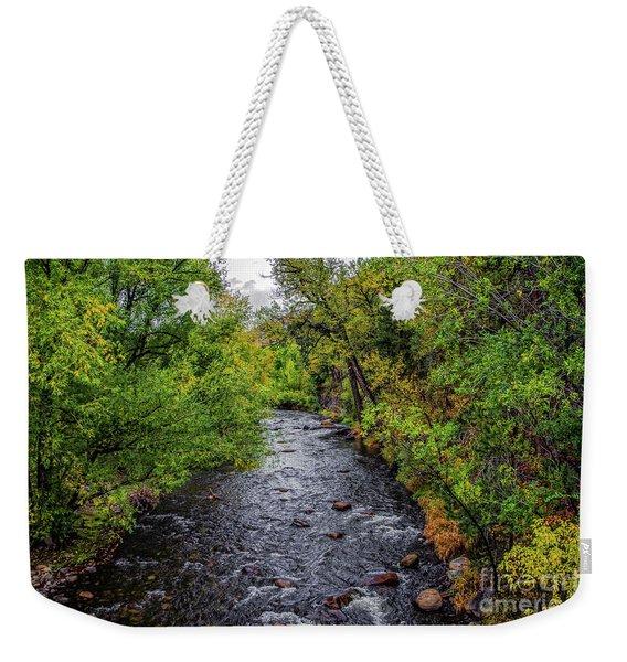 Water Under The Bridge Weekender Tote Bag