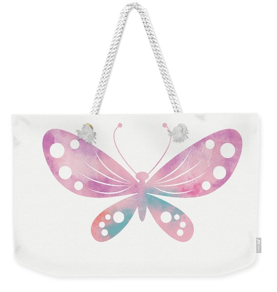 Watercolor Butterfly 1- Art By Linda Woods Weekender Tote Bag