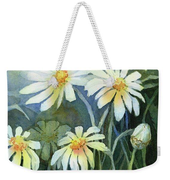 Daisies Flowers  Weekender Tote Bag