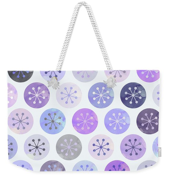 Watercolor Lovely Pattern II Weekender Tote Bag