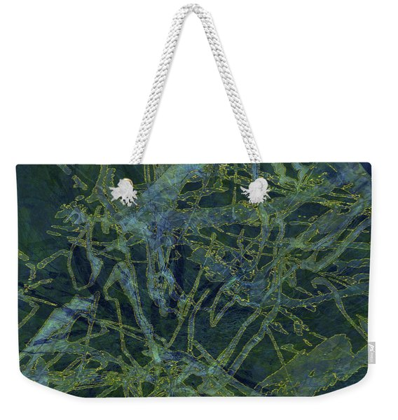 Edition 1 Watercolor Moss Weekender Tote Bag