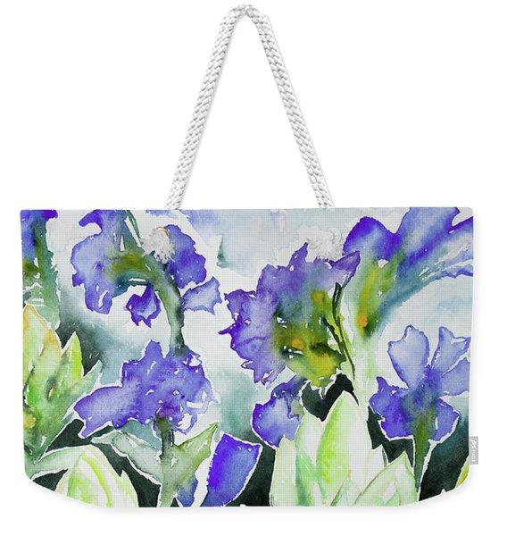 Watercolor - Rocky Mountain Wildflowers Weekender Tote Bag