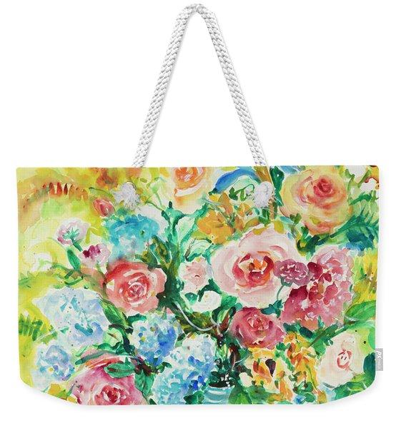 Watercolor Series 120 Weekender Tote Bag