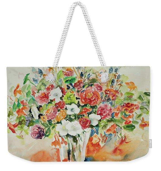 Watercolor Series 23 Weekender Tote Bag