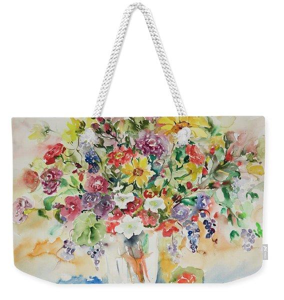 Watercolor Series 33 Weekender Tote Bag