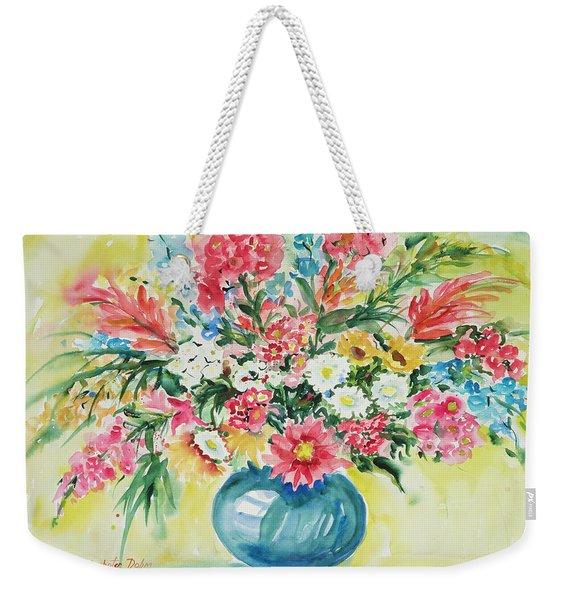 Watercolor Series 58 Weekender Tote Bag