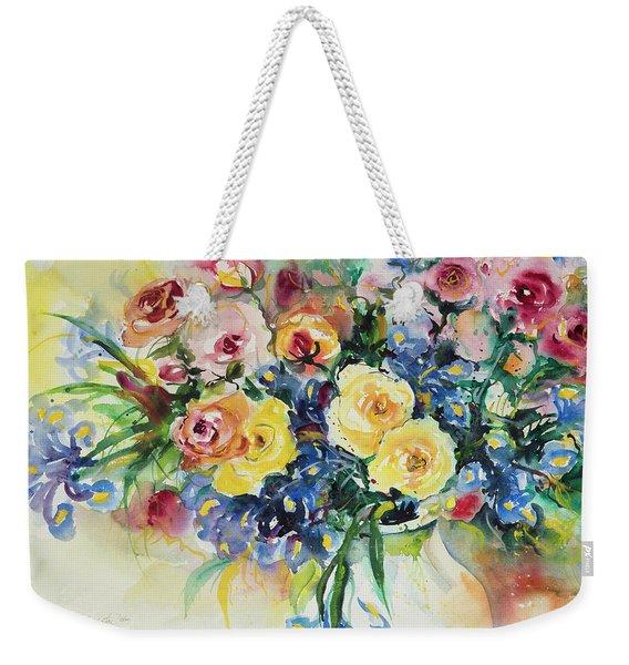 Watercolor Series 62 Weekender Tote Bag