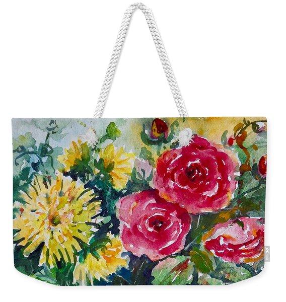 Watercolor Series No. 212 Weekender Tote Bag