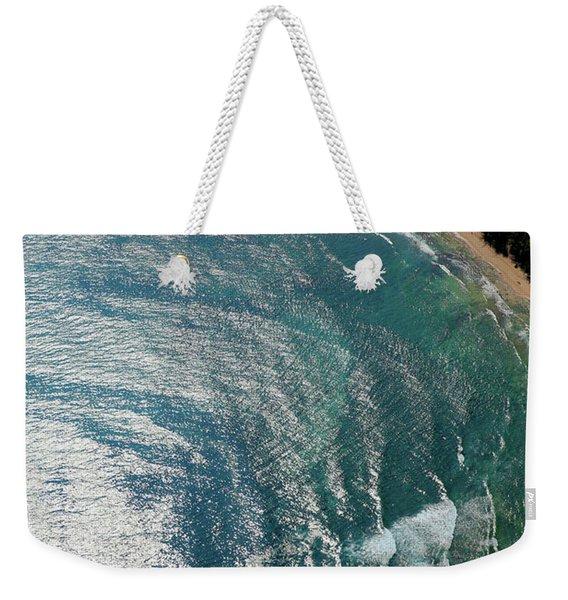 Watercolros Weekender Tote Bag