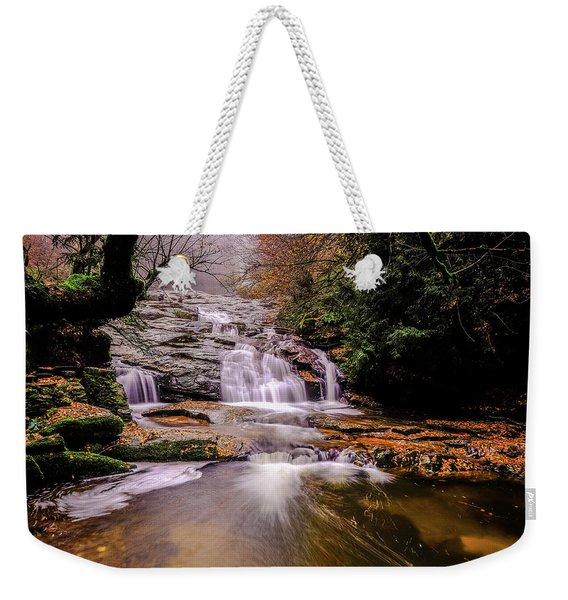 Waterfall-10 Weekender Tote Bag
