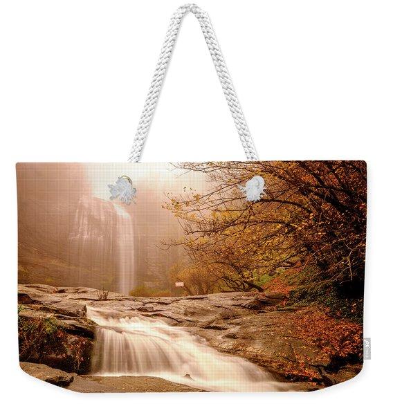 Waterfall-11 Weekender Tote Bag