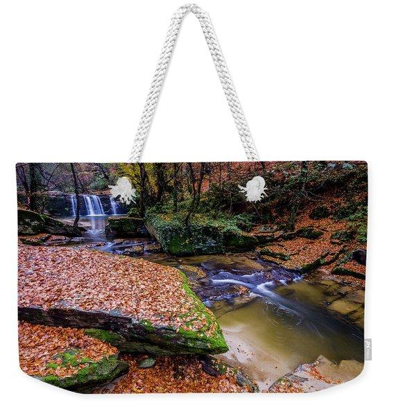Waterfall-3 Weekender Tote Bag