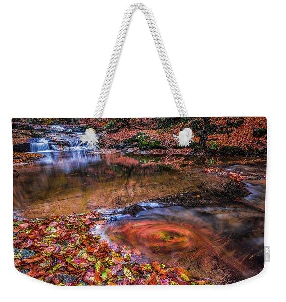 Waterfall-4 Weekender Tote Bag
