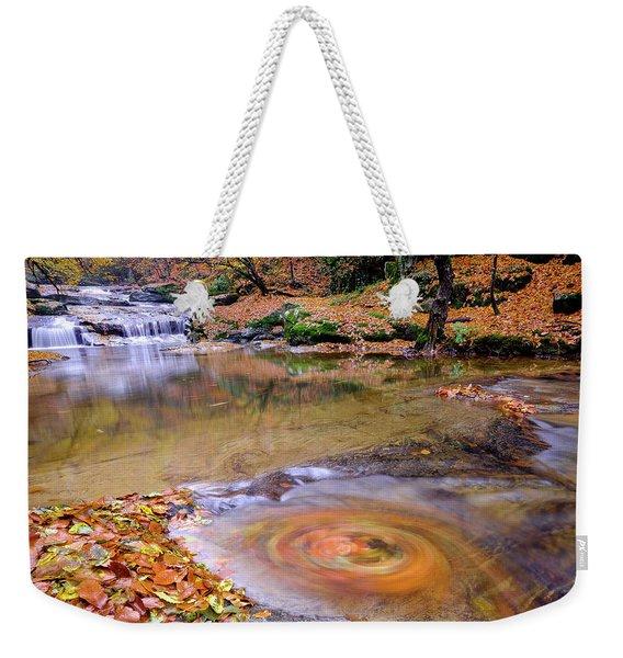 Waterfall-5 Weekender Tote Bag