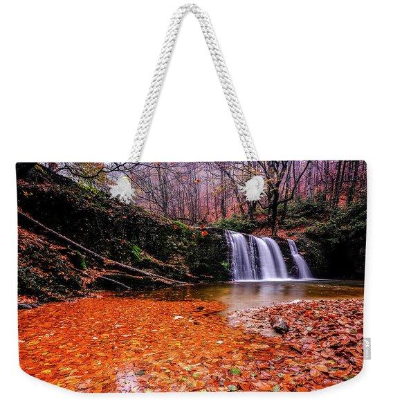 Waterfall-7 Weekender Tote Bag
