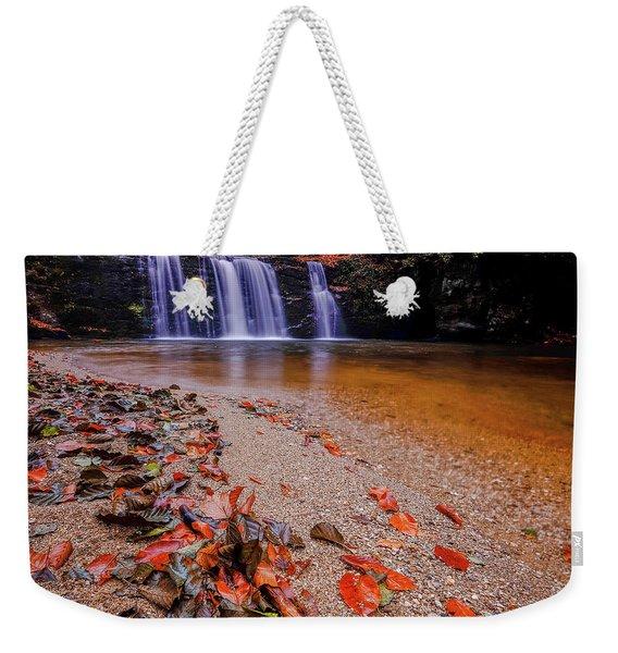 Waterfall-8 Weekender Tote Bag