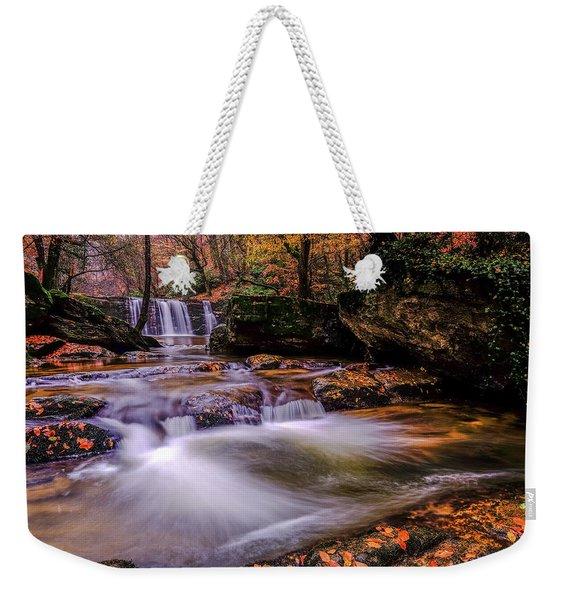 Waterfall-9 Weekender Tote Bag