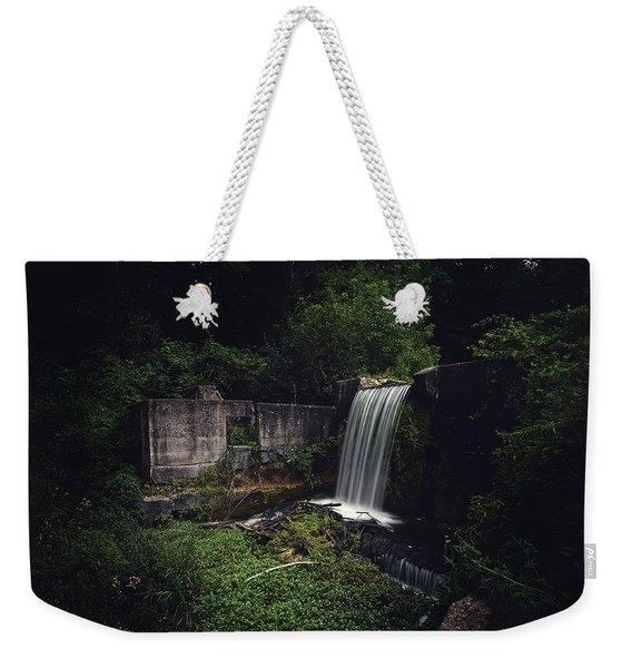 Waterfall At Paradise Springs Weekender Tote Bag