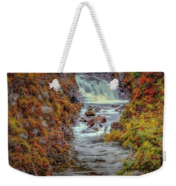 Waterfall #g8 Weekender Tote Bag