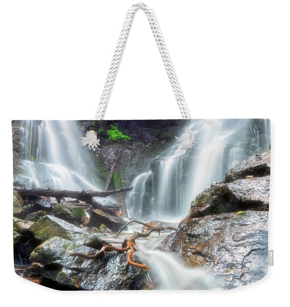 Waterfall Silence Weekender Tote Bag