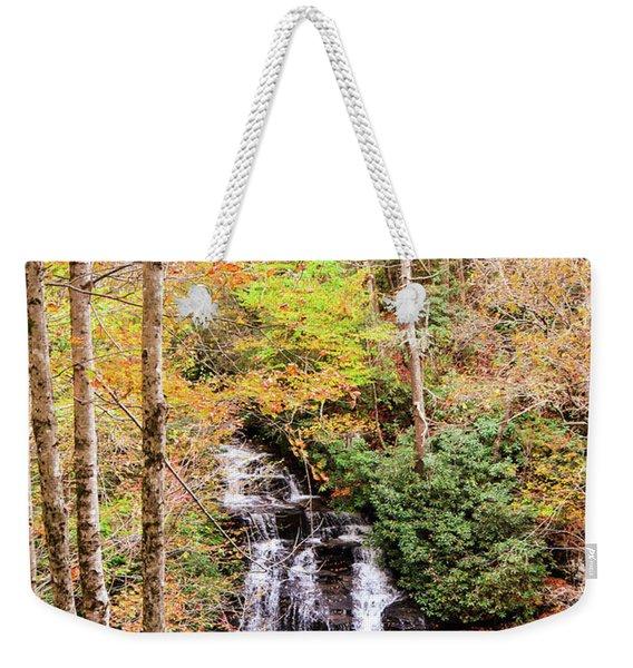 Waterfall Waters Weekender Tote Bag