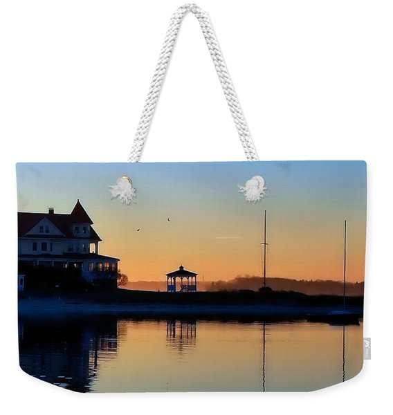 Waterfront Living Weekender Tote Bag
