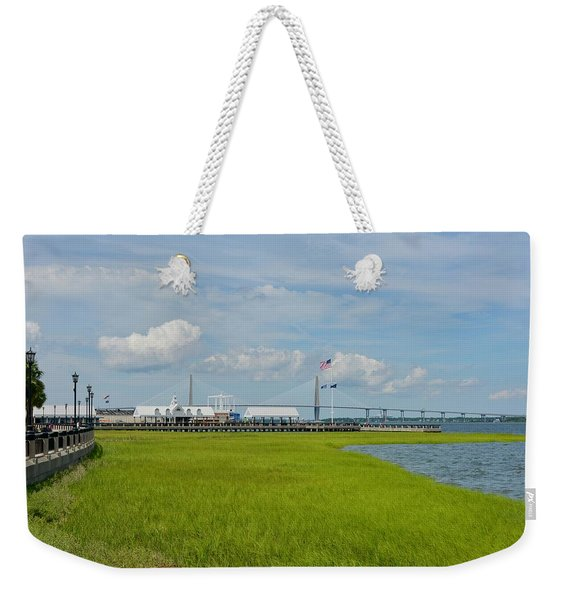 Waterfront Park Charleston Weekender Tote Bag