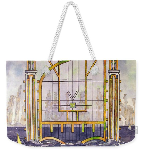 Waterfront Sonata Weekender Tote Bag