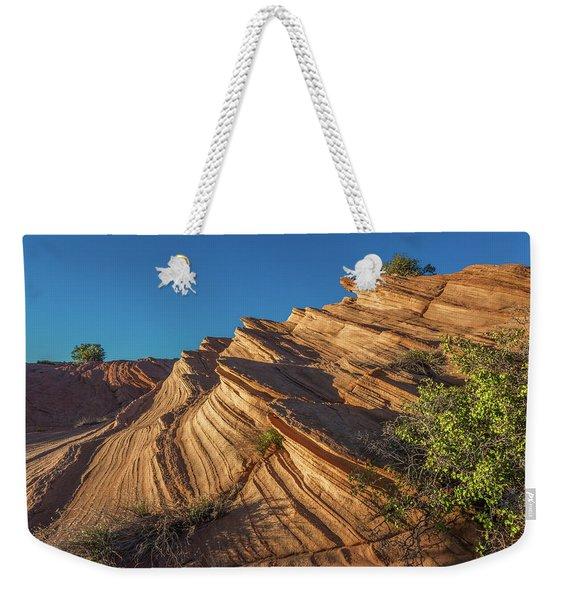 Waterhole Canyon Rock Formation Weekender Tote Bag
