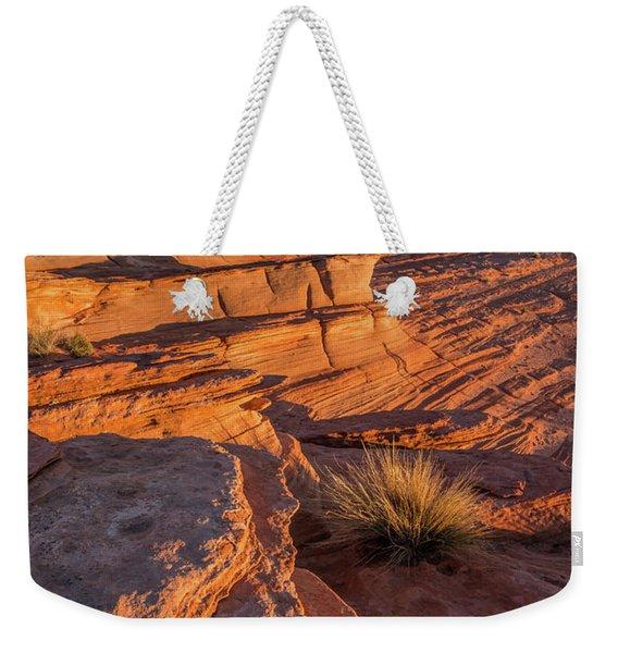 Waterhole Canyon Sunset Vista Weekender Tote Bag