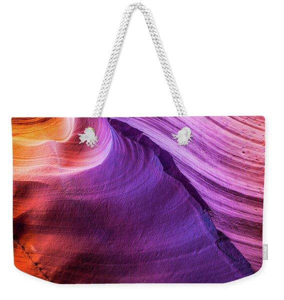 Waterhole Canyon Wave Weekender Tote Bag